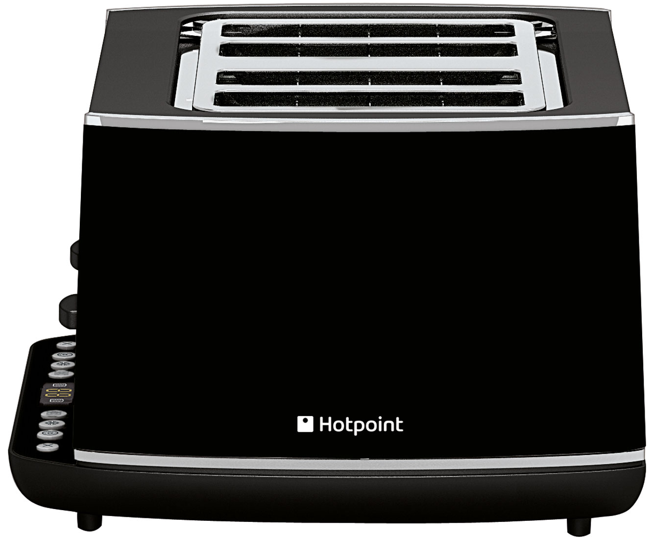 Hotpoint TT44EAB0UK 4 Slice Toaster - Black