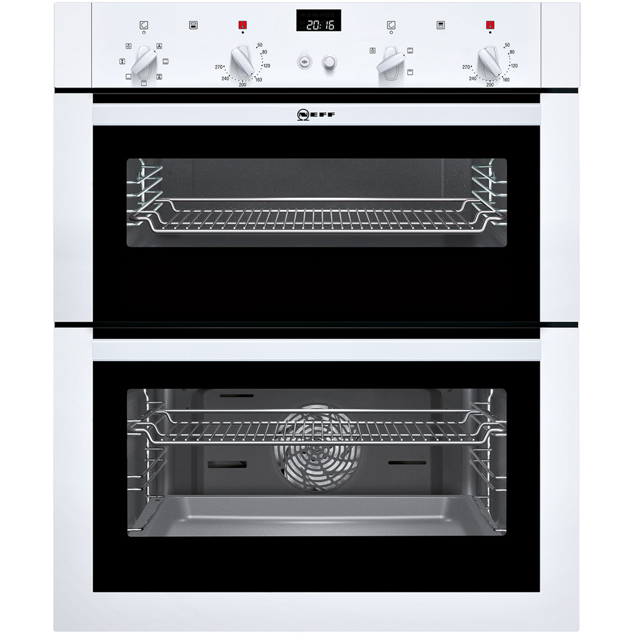 Neff U17M42W5GB Built Under Double Oven in White