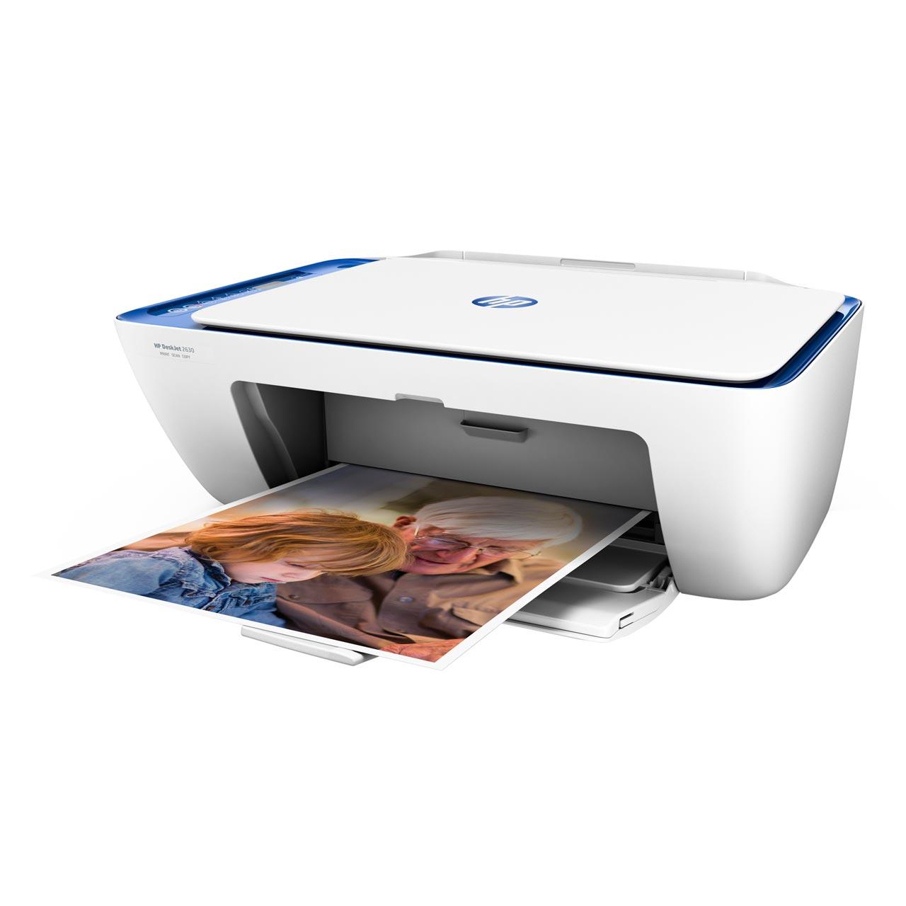 HP DeskJet 2630 Inkjet Printer - Noble Blue