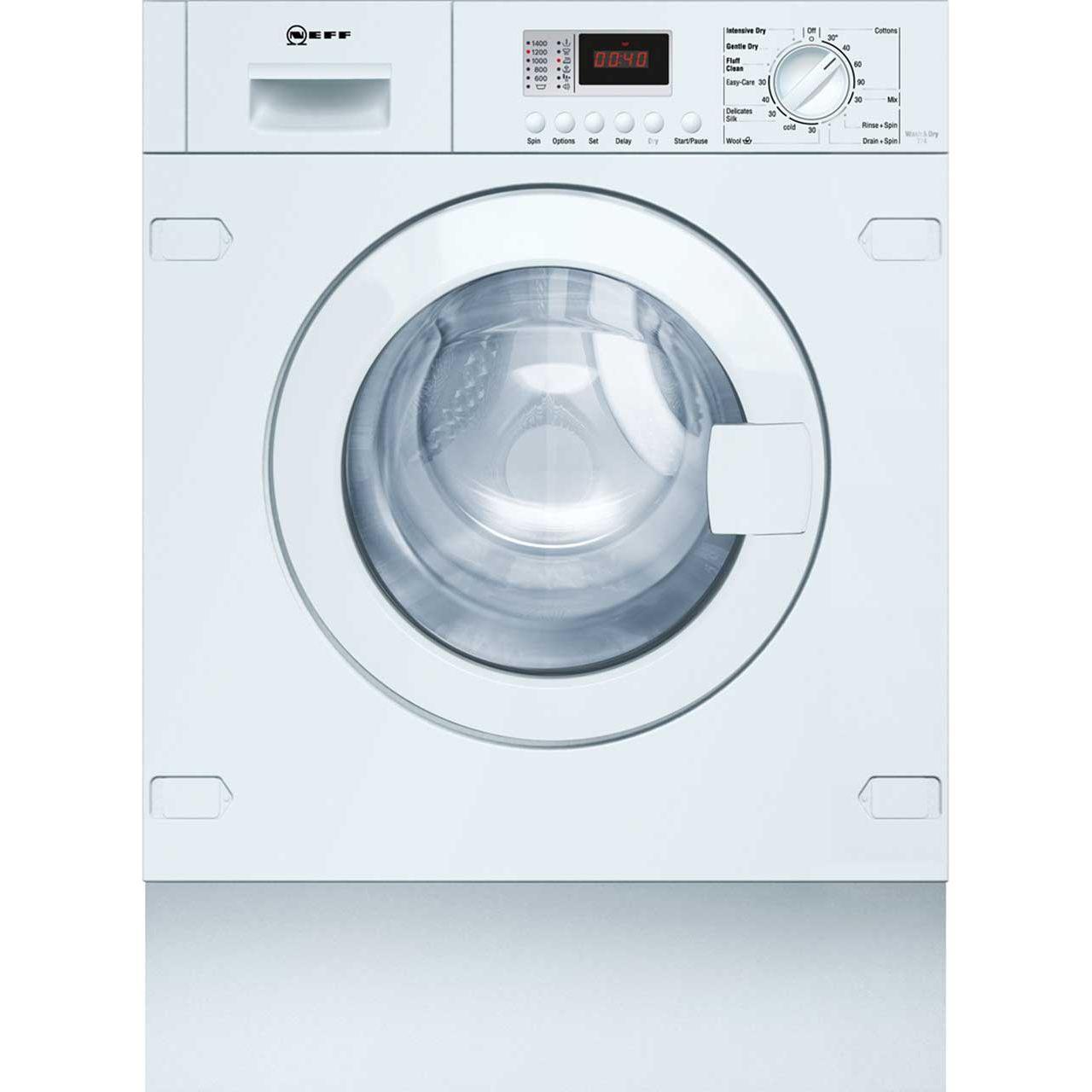 neff v6320x1gb integrated 7kg 4kg washer dryer with 1400 rpm b rated rh ao com neff washing machine support neff washing machine manuel