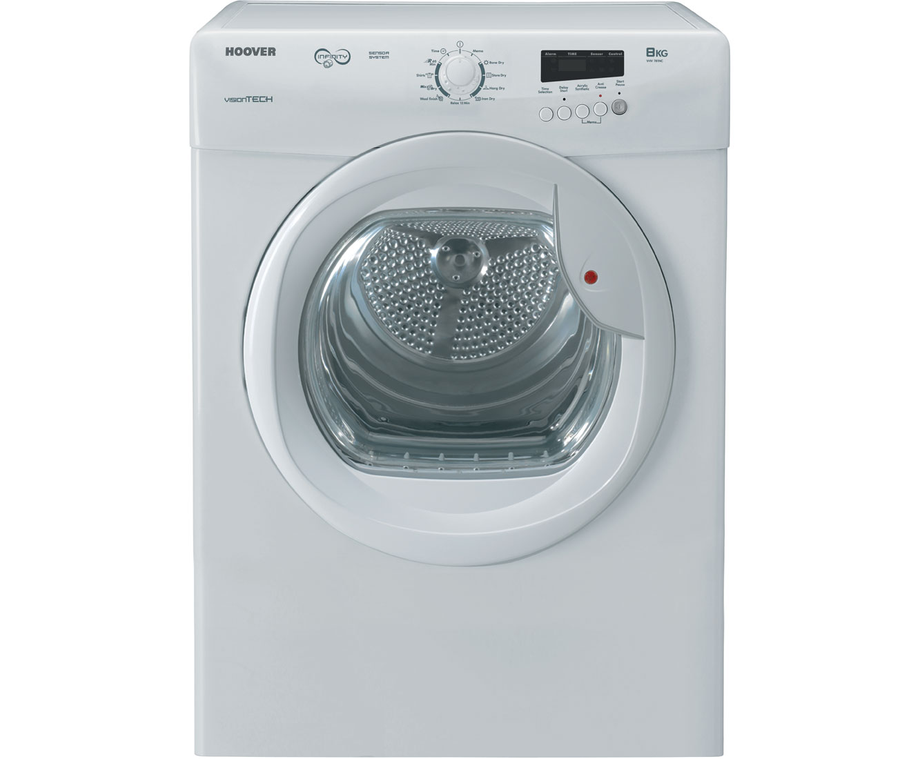 Hoover VHV781NC Vented Tumble Dryer - White