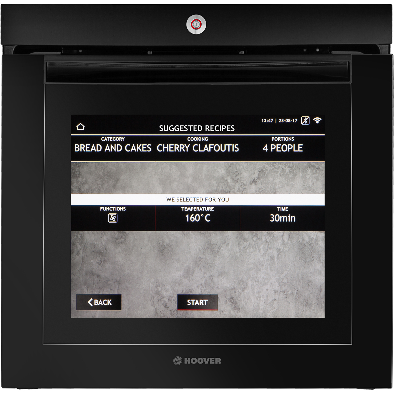 Vision Bkg Hoover Electric Single Oven 1450 Microwave Schematic Image Touch Control Panel Circuit