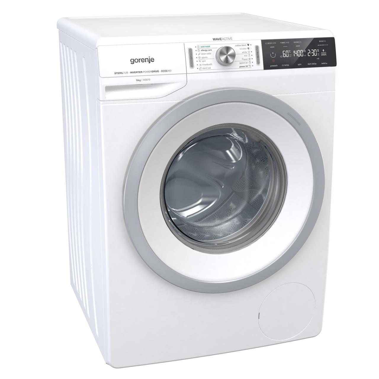 Gorenje Waveactive Wa946 9kg Washing Machine With 1400 Rpm