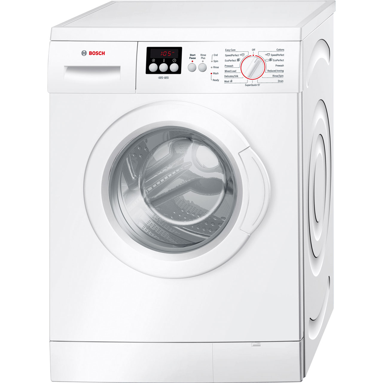 Bosch Serie 2 WAE28262GB 6Kg Washing Machine with 1400 rpm - White