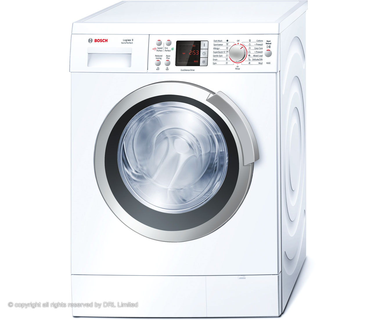 Bosch Logixx WAS32462GB 9Kg Washing Machine with 1600 rpm - White
