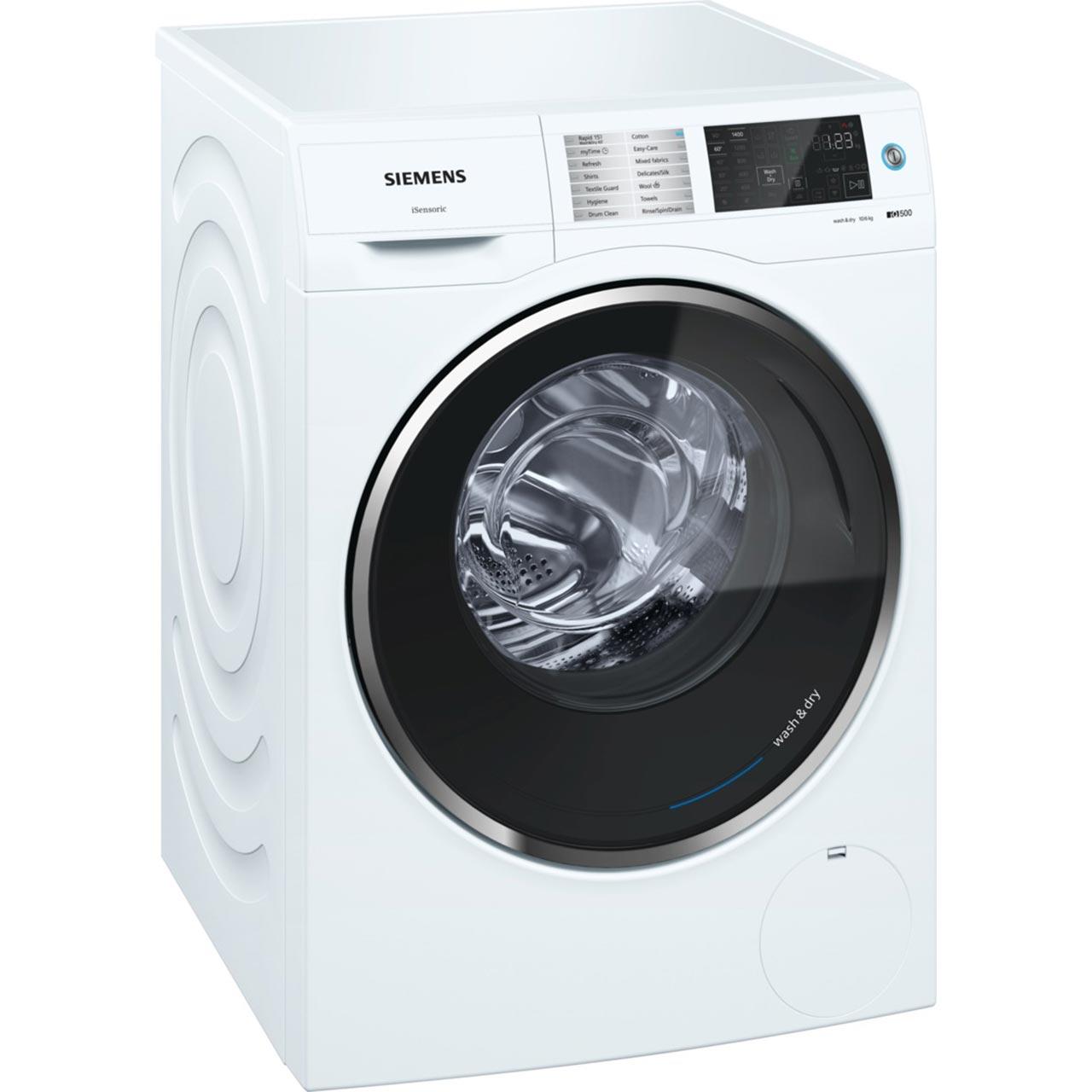 Wd14u520gb Wh Siemens Washer Dryer 10kg Ao Com