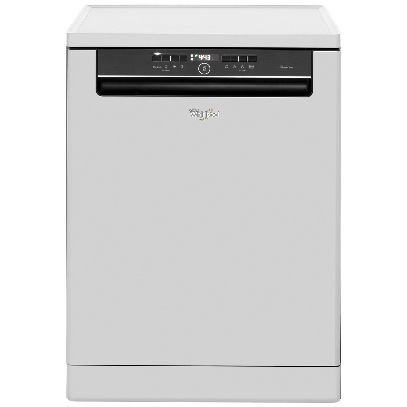 Whirlpool 6th Sense PowerClean ADPL7470IX Standard Dishwasher - Stainless Steel Look