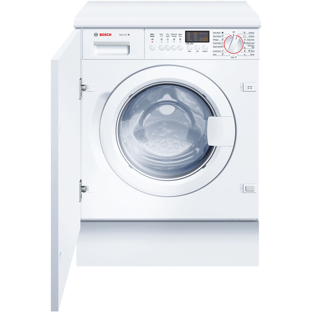 Bosch Serie 8 WIS28441GB Integrated Washing Machine in White