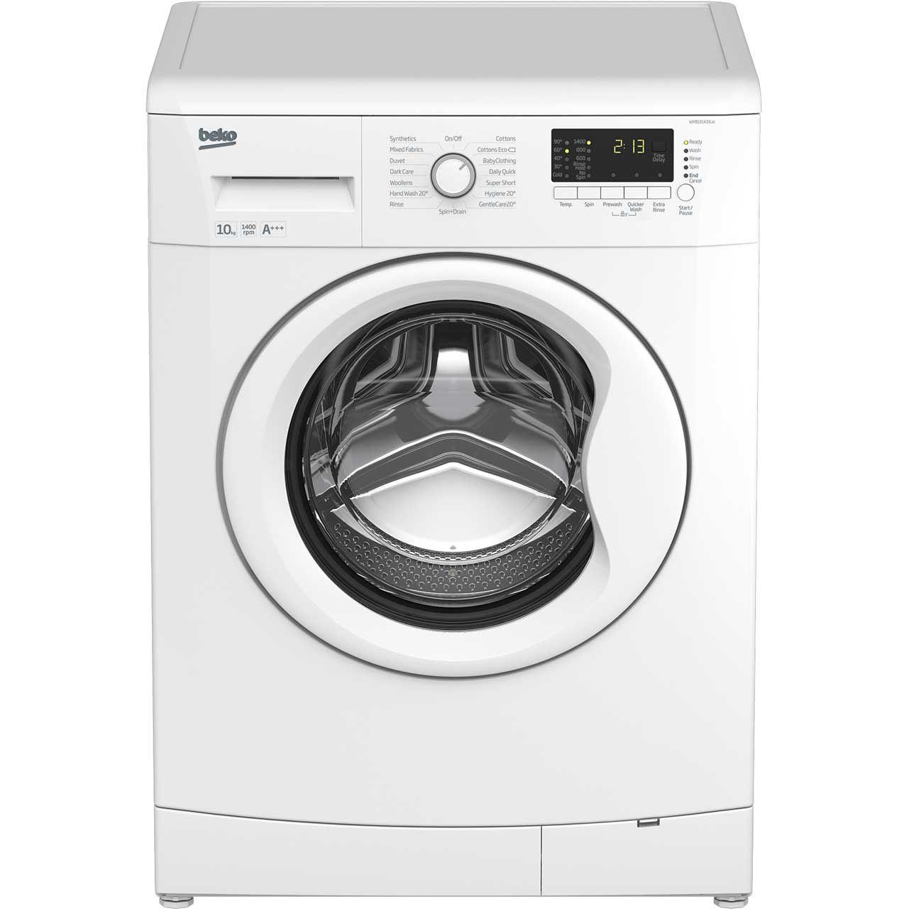 Beko WMB101433LW Free Standing Washing Machine in White