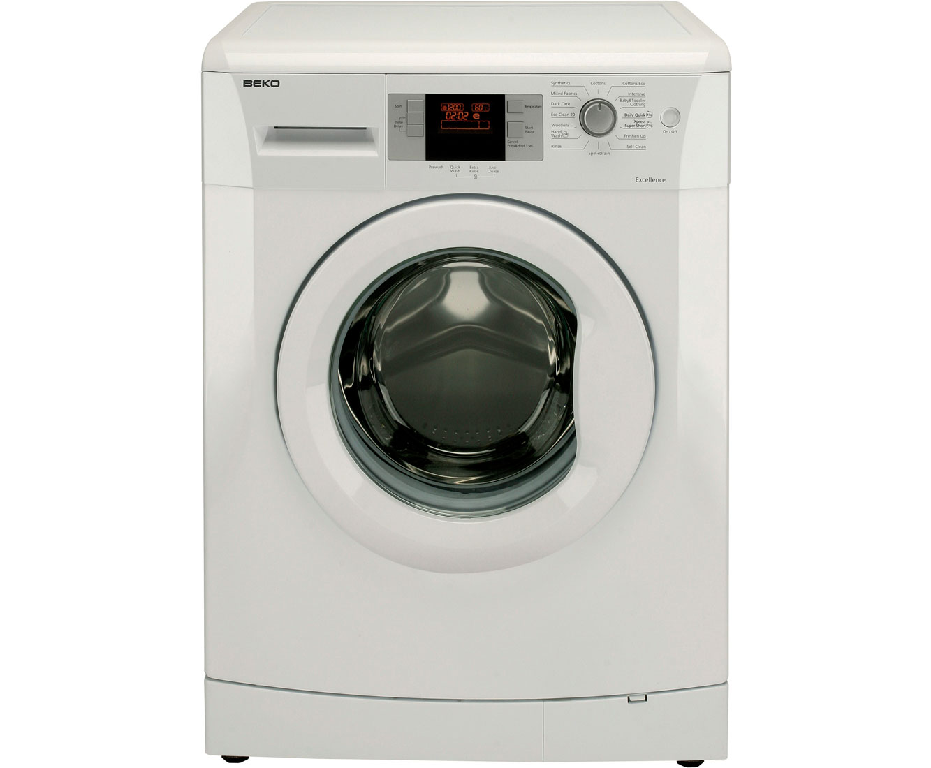 Beko WMB71642W 7Kg Washing Machine with 1600 rpm - White