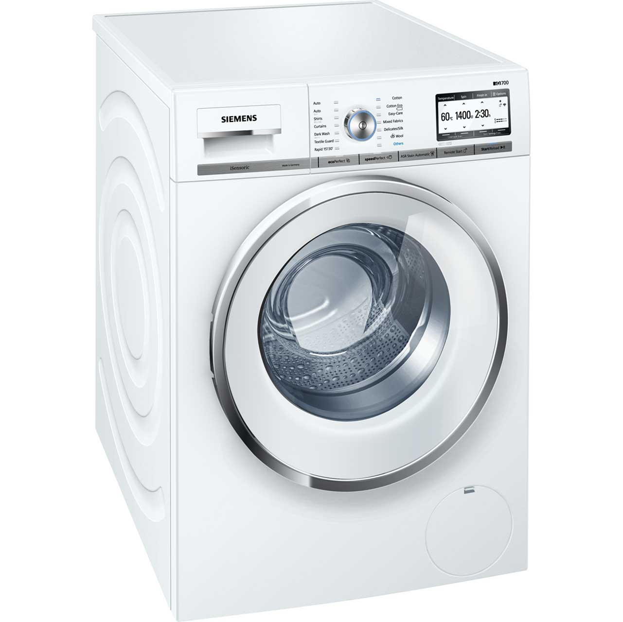 Image of Siemens IQ-700 WMH4Y790GB Free Standing Washing Machine in White
