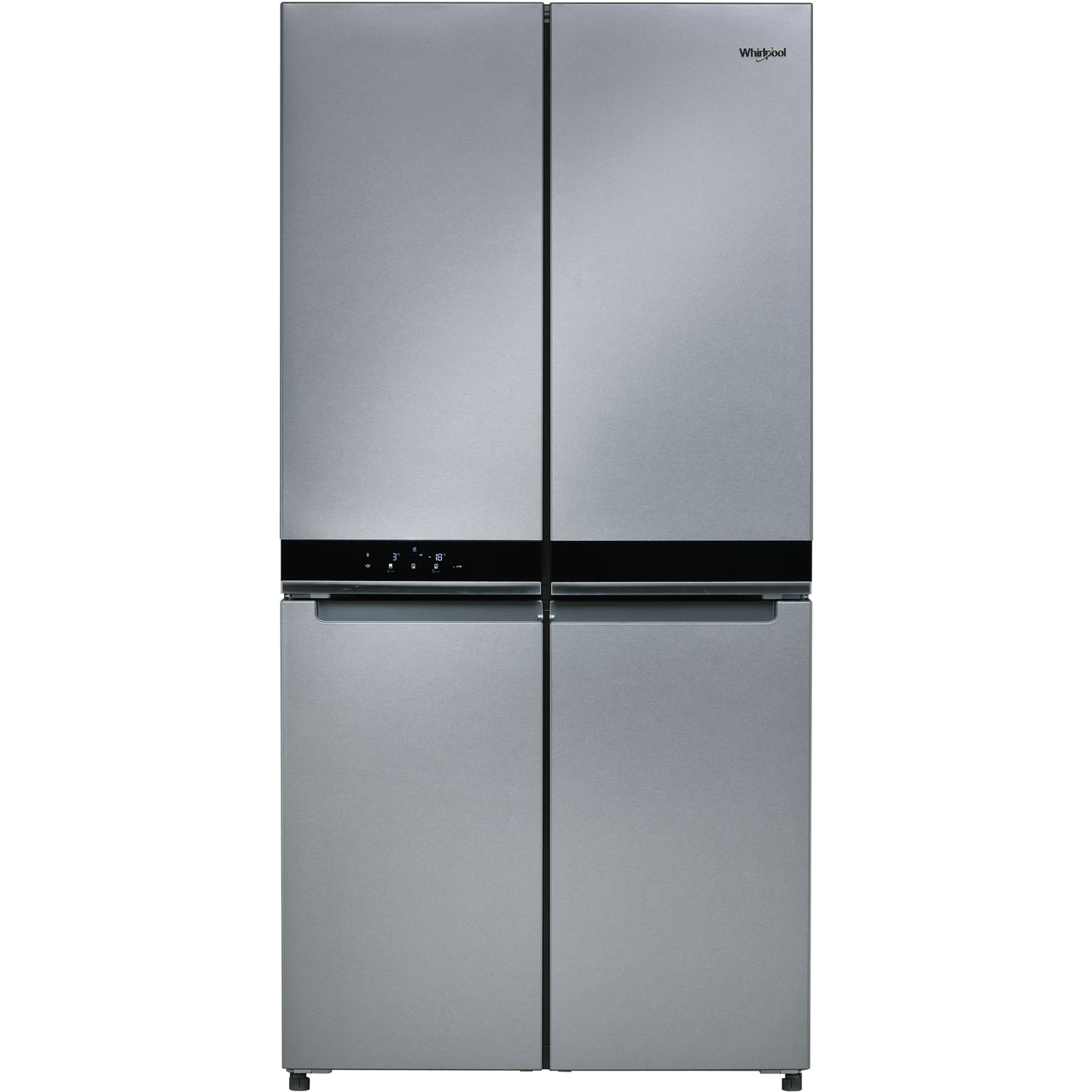 whirlpool w collection wq9b1luk american fridge freezer review