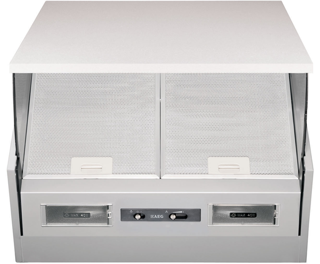 AEG Competence X56342SE10 Integrated Cooker Hood in Stainless Steel