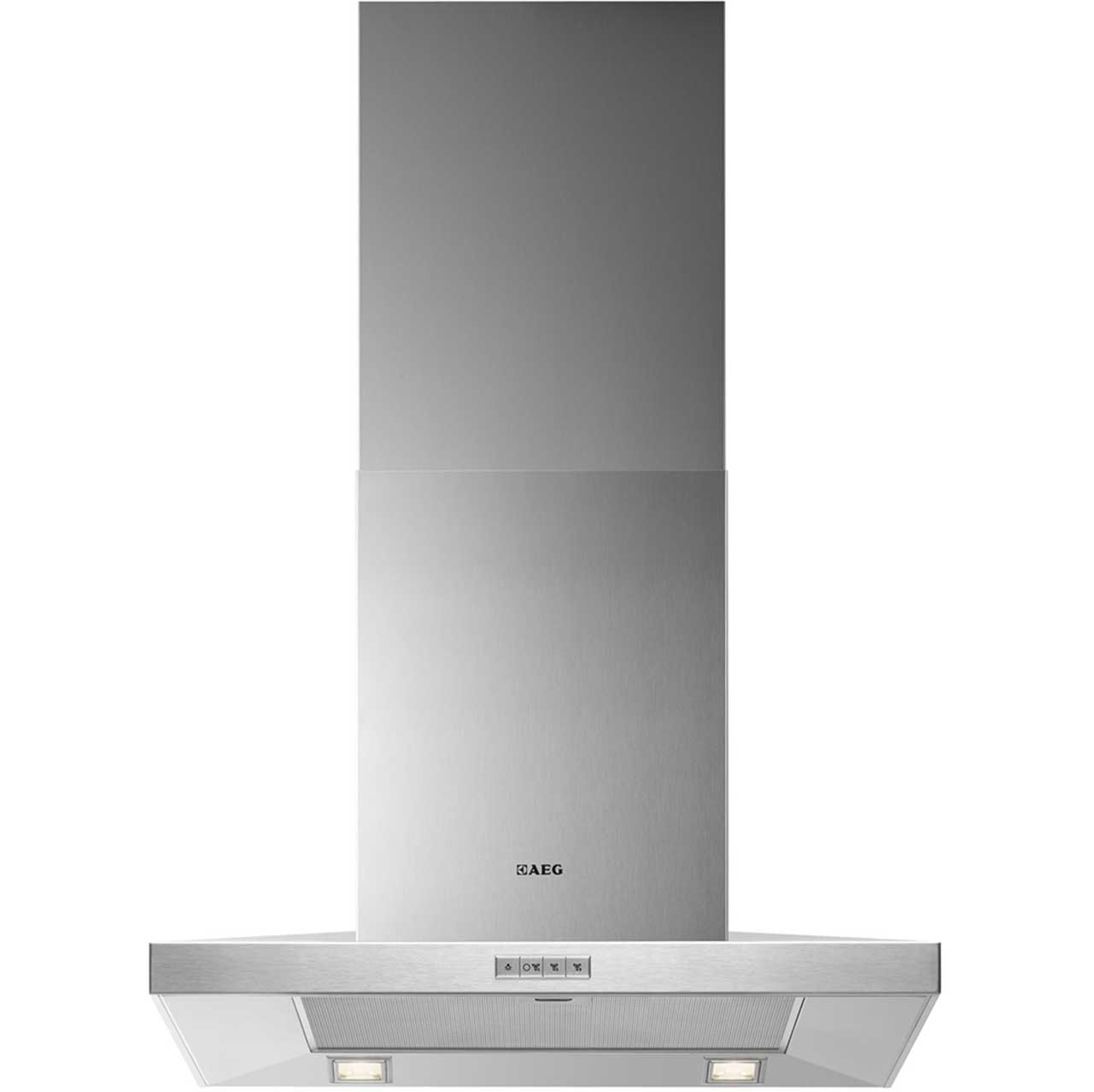 AEG X66163MK1 Integrated Cooker Hood in Stainless Steel
