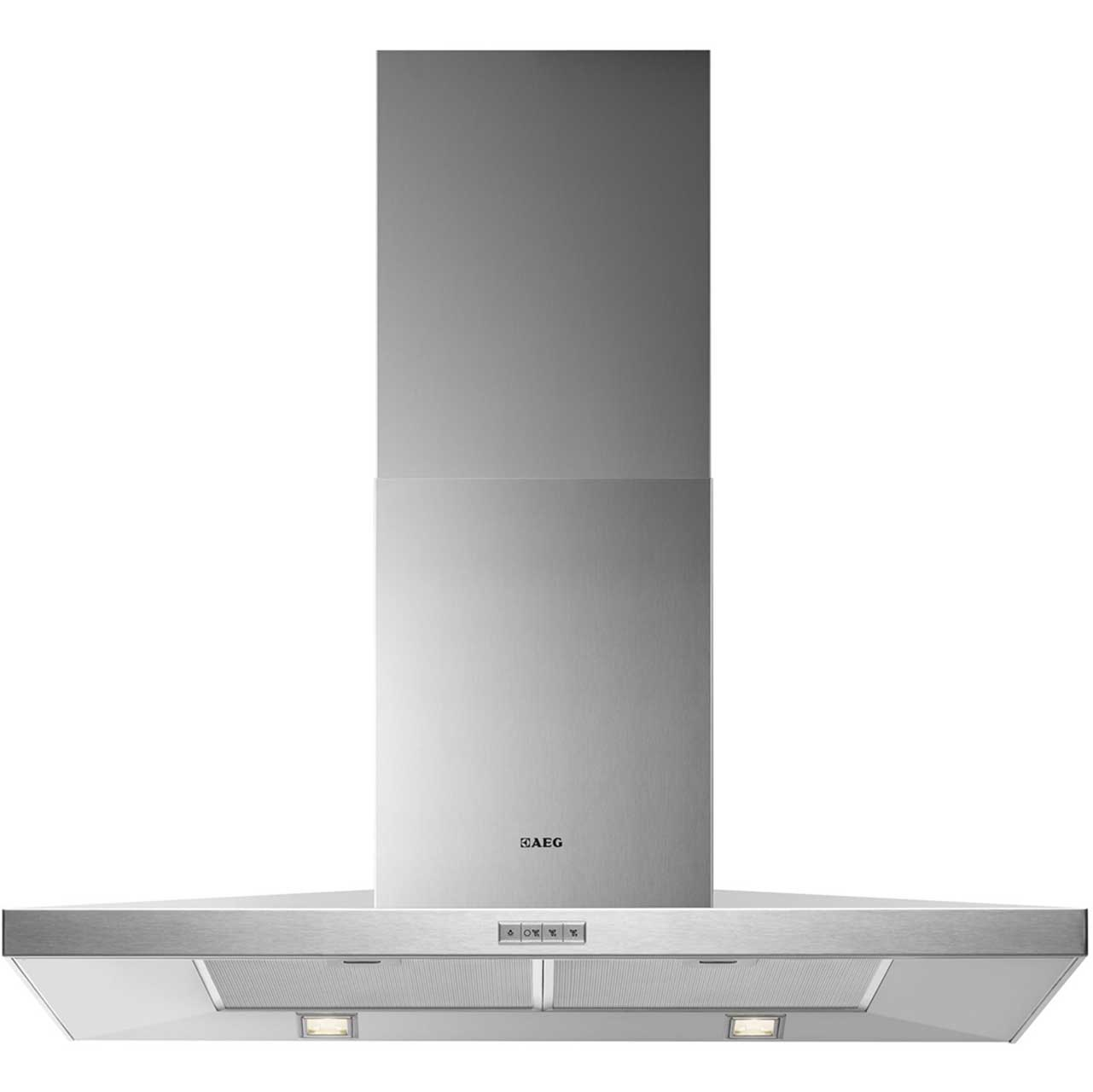 AEG X69163MK1 Integrated Cooker Hood in Stainless Steel
