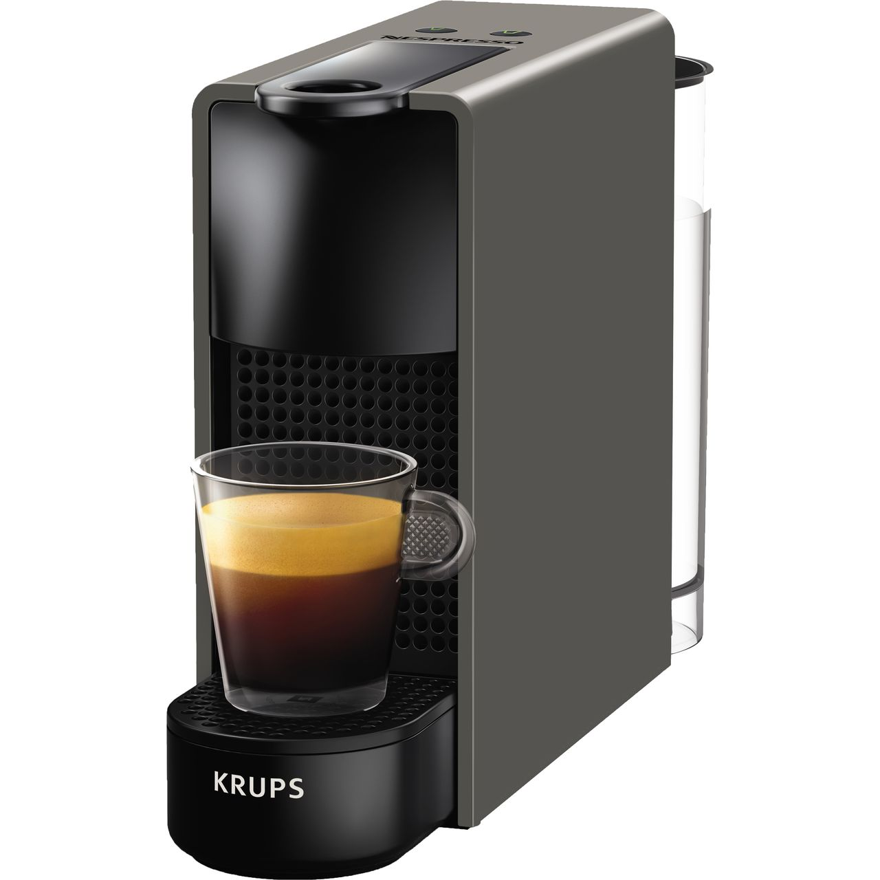 xn110b40 gy nespresso by krups coffee machine. Black Bedroom Furniture Sets. Home Design Ideas