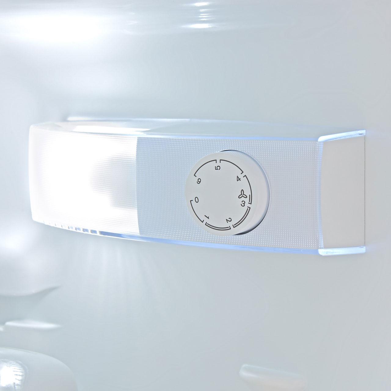 Zanussi ZBB24431SV Integrated 70/30 Fridge Freezer with Sliding Door Fixing  Kit - White - A+ Rated