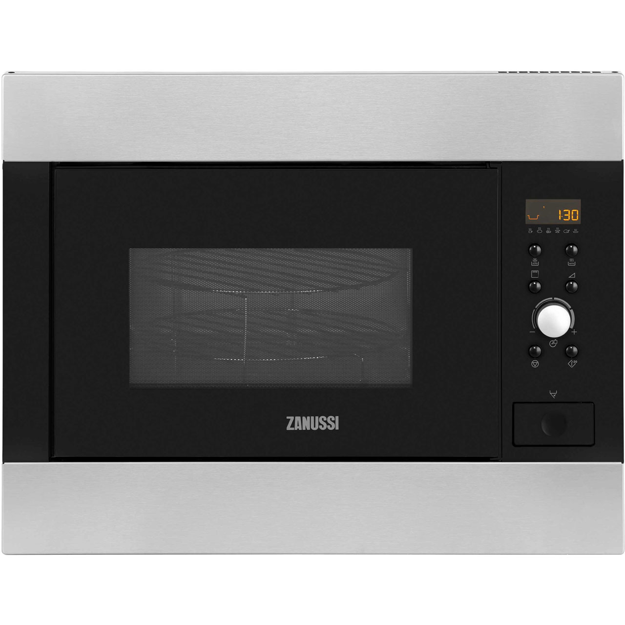 Zanussi ZBG26542XA Integrated Microwave Oven in Stainless Steel
