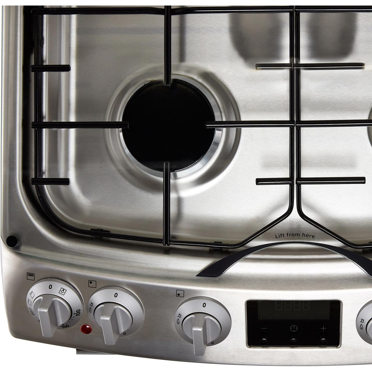 Zanussi Zck66350xa Free Standing A A Dual Fuel Cooker With
