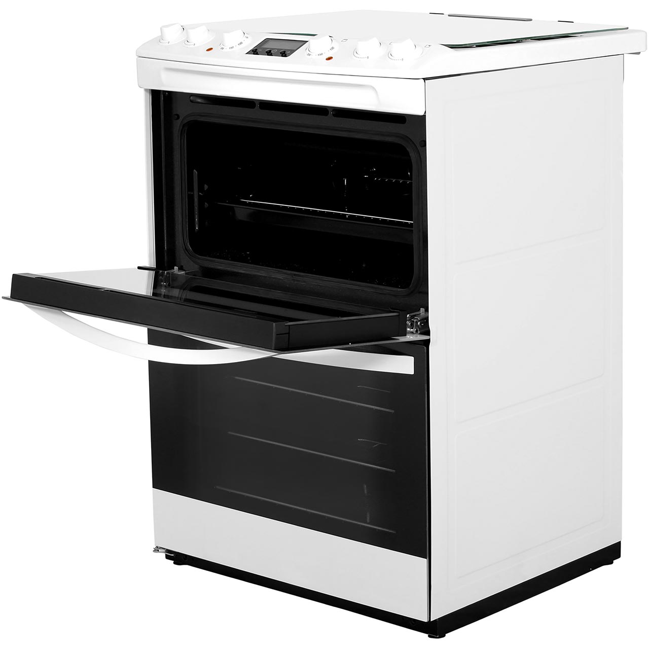 Zanussi Zck68200x Free Standing Dual Fuel Cooker With Gas