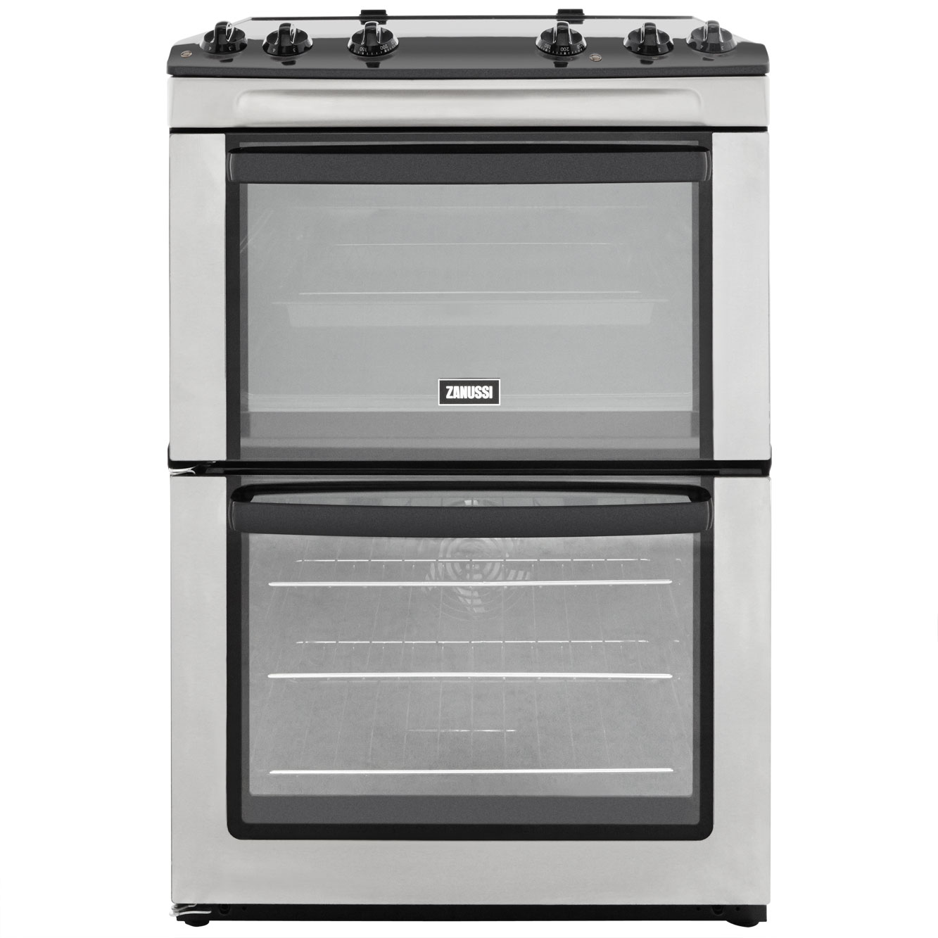 Zanussi ZCV661MX Electric Cooker with Ceramic Hob - Stainless Steel