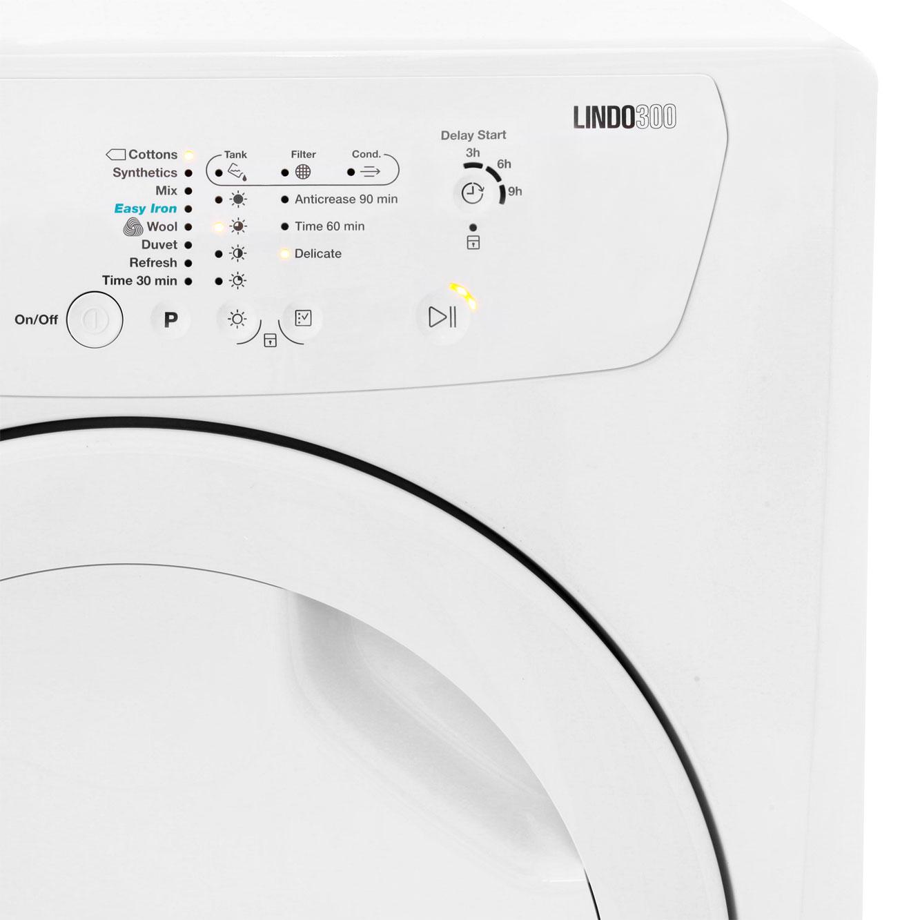 Zanussi Lindo300 Condenser Tumble Dryer Zdc8202p Ao