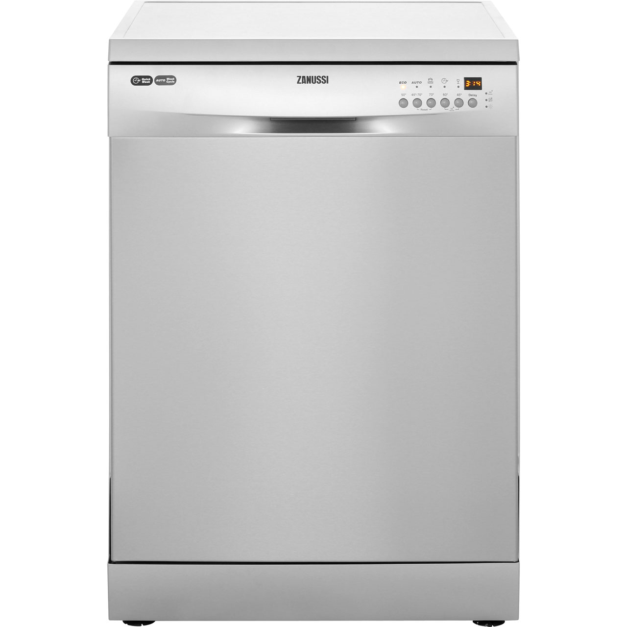 Zanussi Avanti ZDF26003XA Free Standing Dishwasher in Stainless Steel