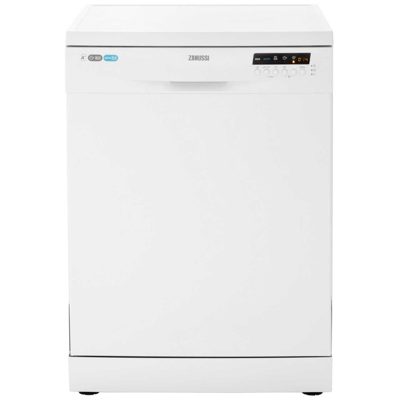 Zanussi ZDF26011WA Free Standing Dishwasher in White