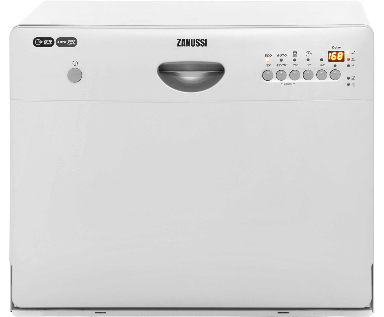 Zanussi ZDM16301SA Table Top Dishwasher - Silver