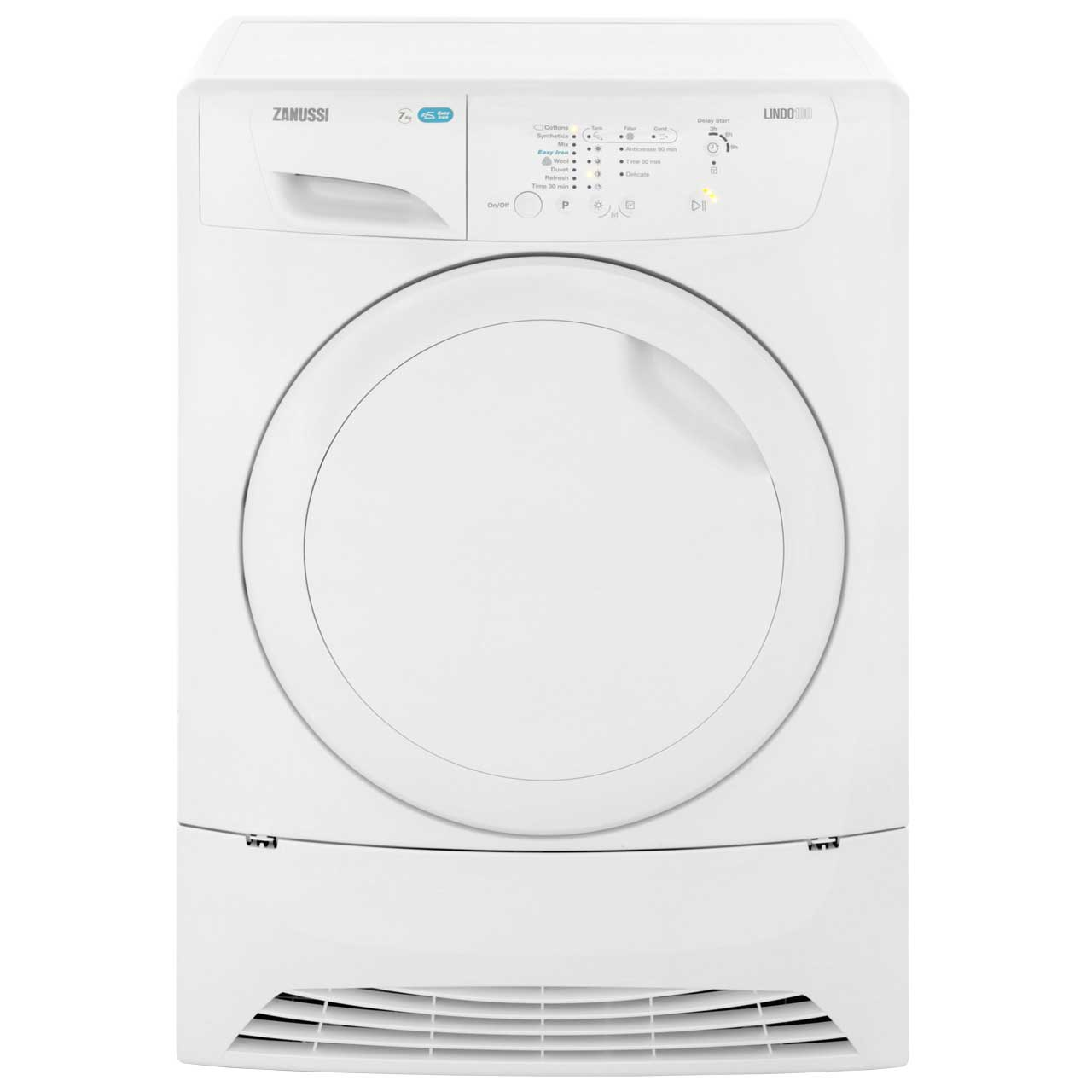 Zanussi ZDP7205PZ Free Standing Condenser Tumble Dryer in White
