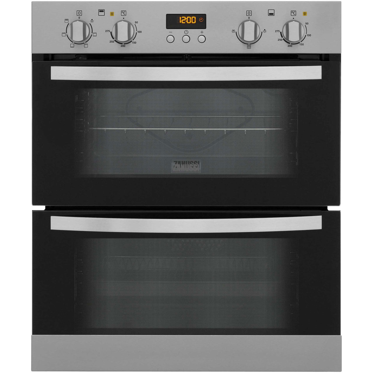 Zanussi ZOE35511XK Built Under Double Oven in Stainless Steel