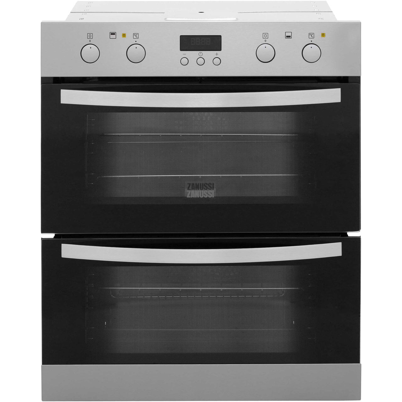 Zanussi ZOF35712XK Built Under Double Oven in Stainless Steel