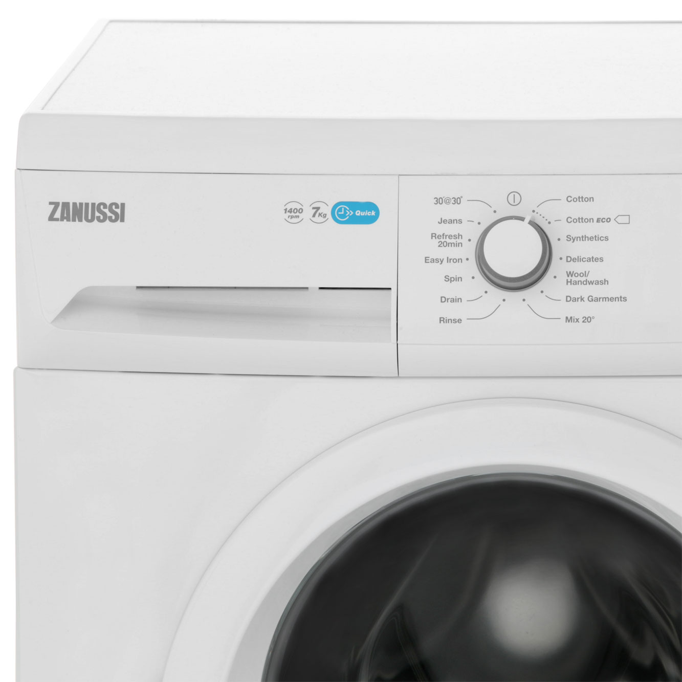 Zanussi Zwf71440w Lindo100 A 7kg 1400 Rpm Washing Machine White New