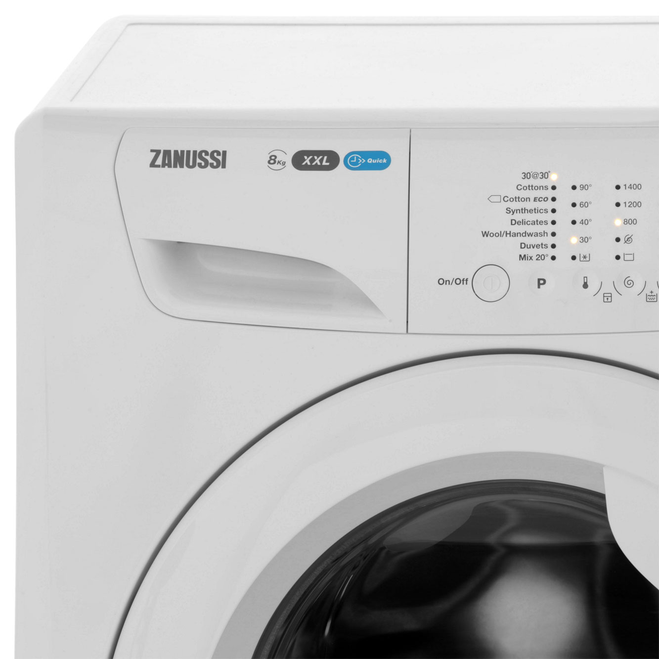 Zanussi Zwf81460w Lindo300 A    Rated 8kg 1400 Rpm Washing