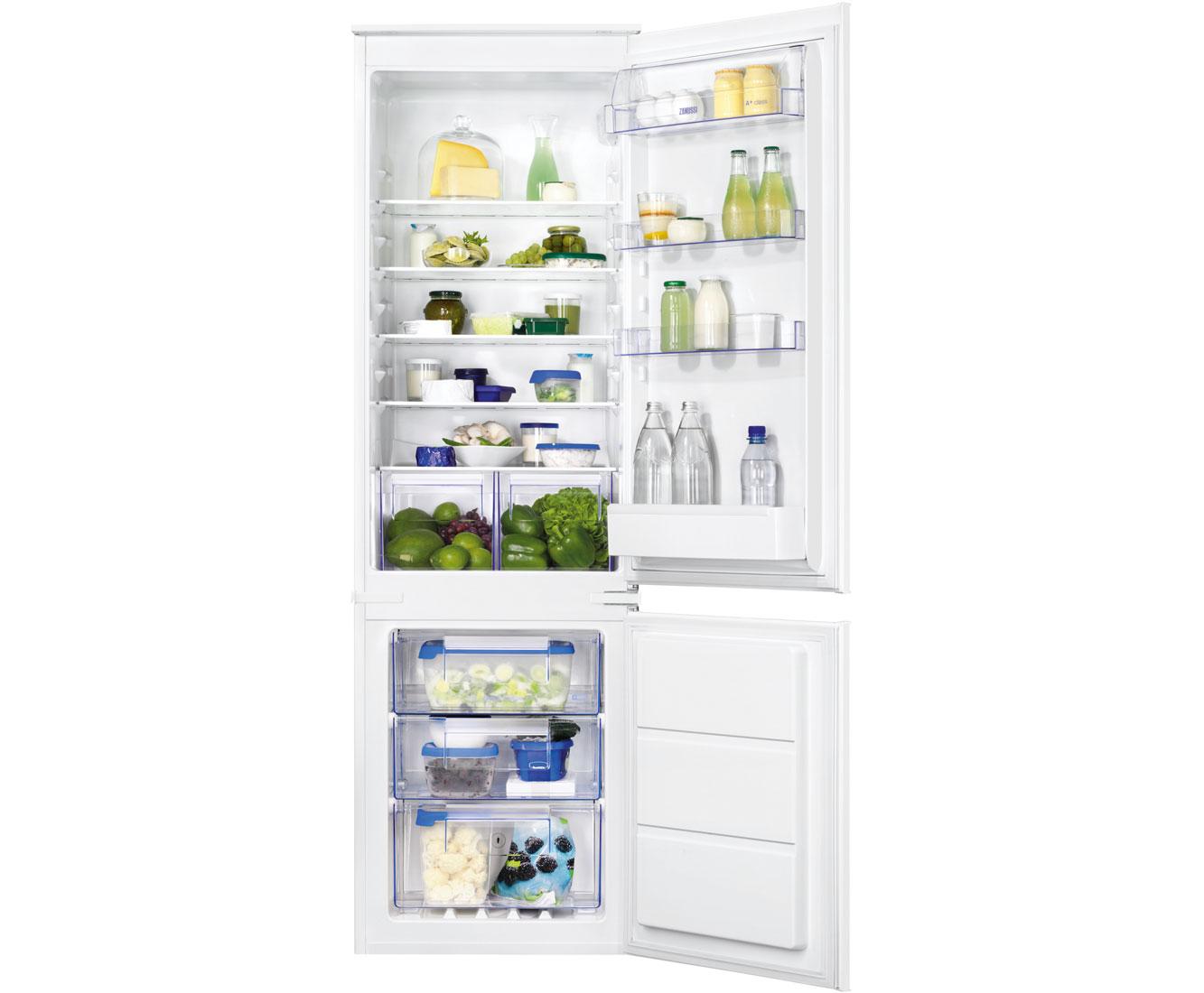 Zanussi ZBB28651SA Integrated Fridge Freezer Frost Free in White