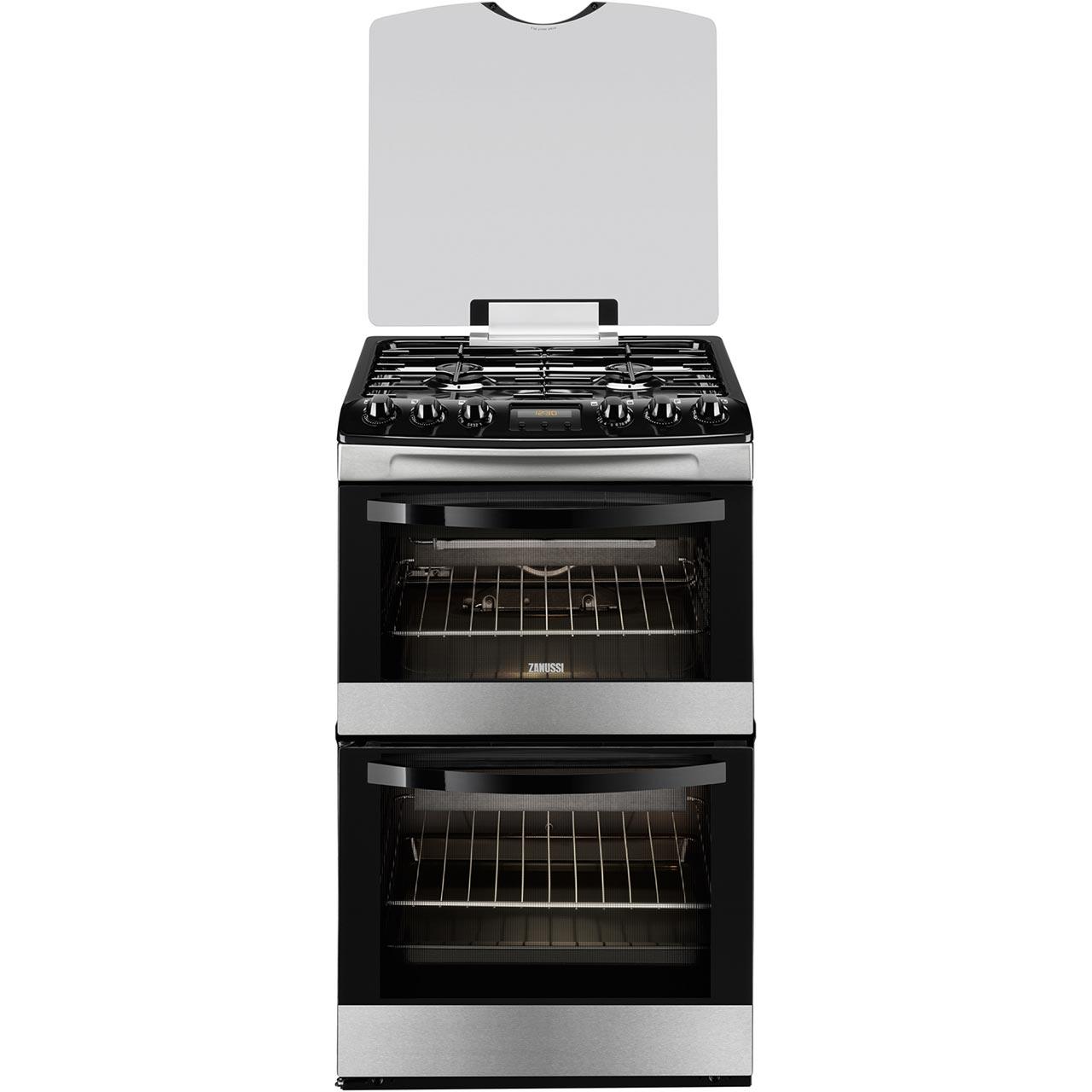 Zanussi Avanti ZCG43200XA Free Standing Cooker in Stainless Steel