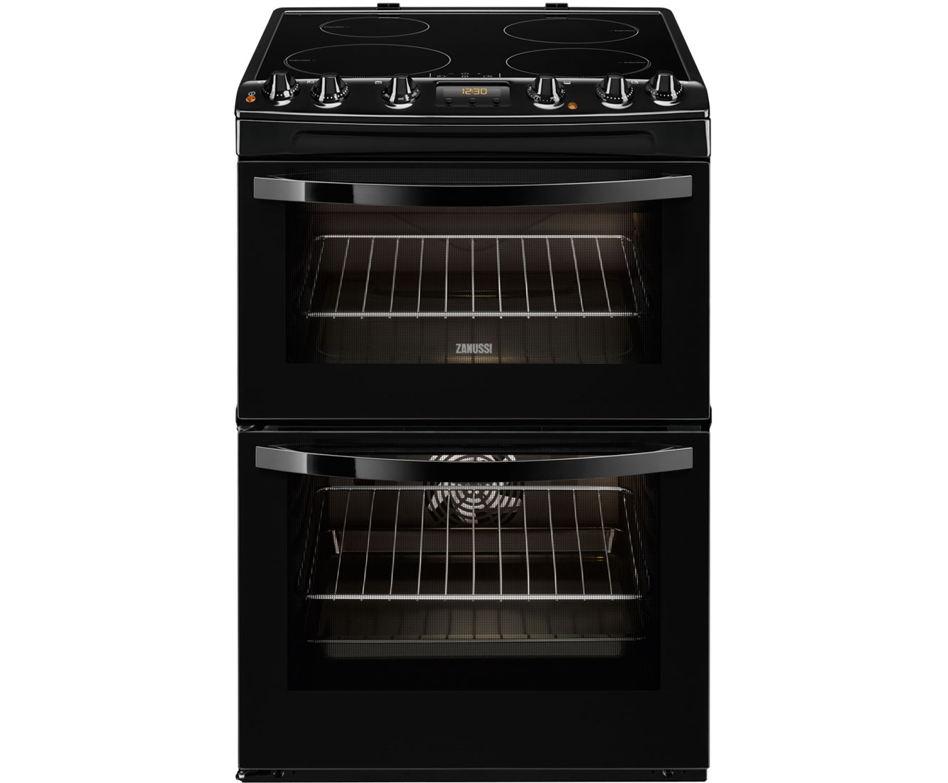 Zanussi Avanti Zci68300ba Electric Cooker With Induction Hob Black Buy Circuit Boardelectric Cookerinduction A Rated