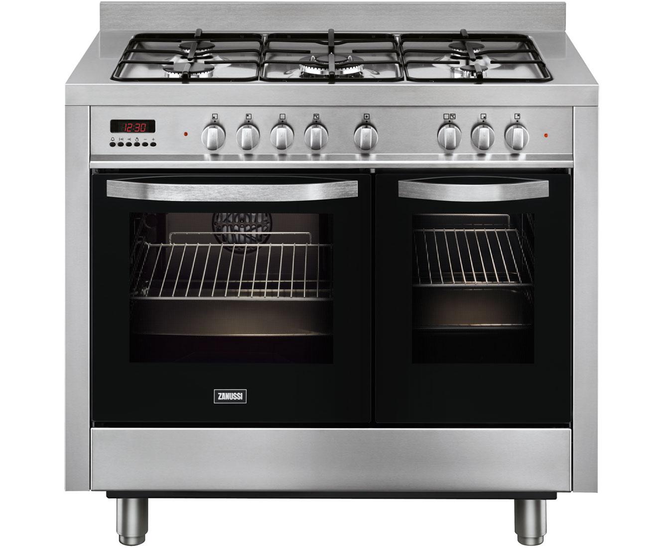 Zanussi ZCK18307XA Free Standing Range Cooker in Stainless Steel