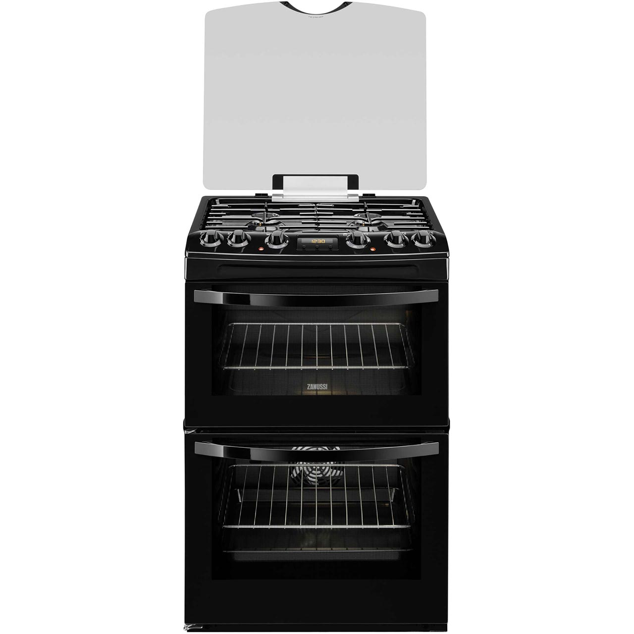 Zanussi ZCK68300B Free Standing Cooker in Black