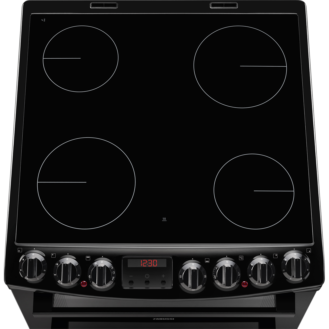 Zanussi Zcv69350xa Free Standing A A Electric Cooker With