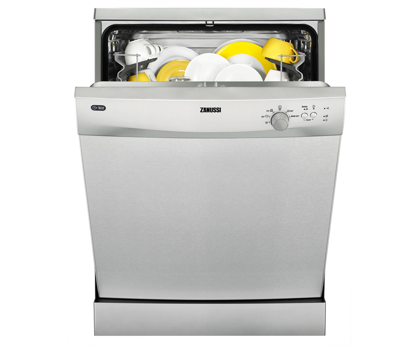 Zanussi ZDF21001XA Free Standing Dishwasher in Stainless Steel