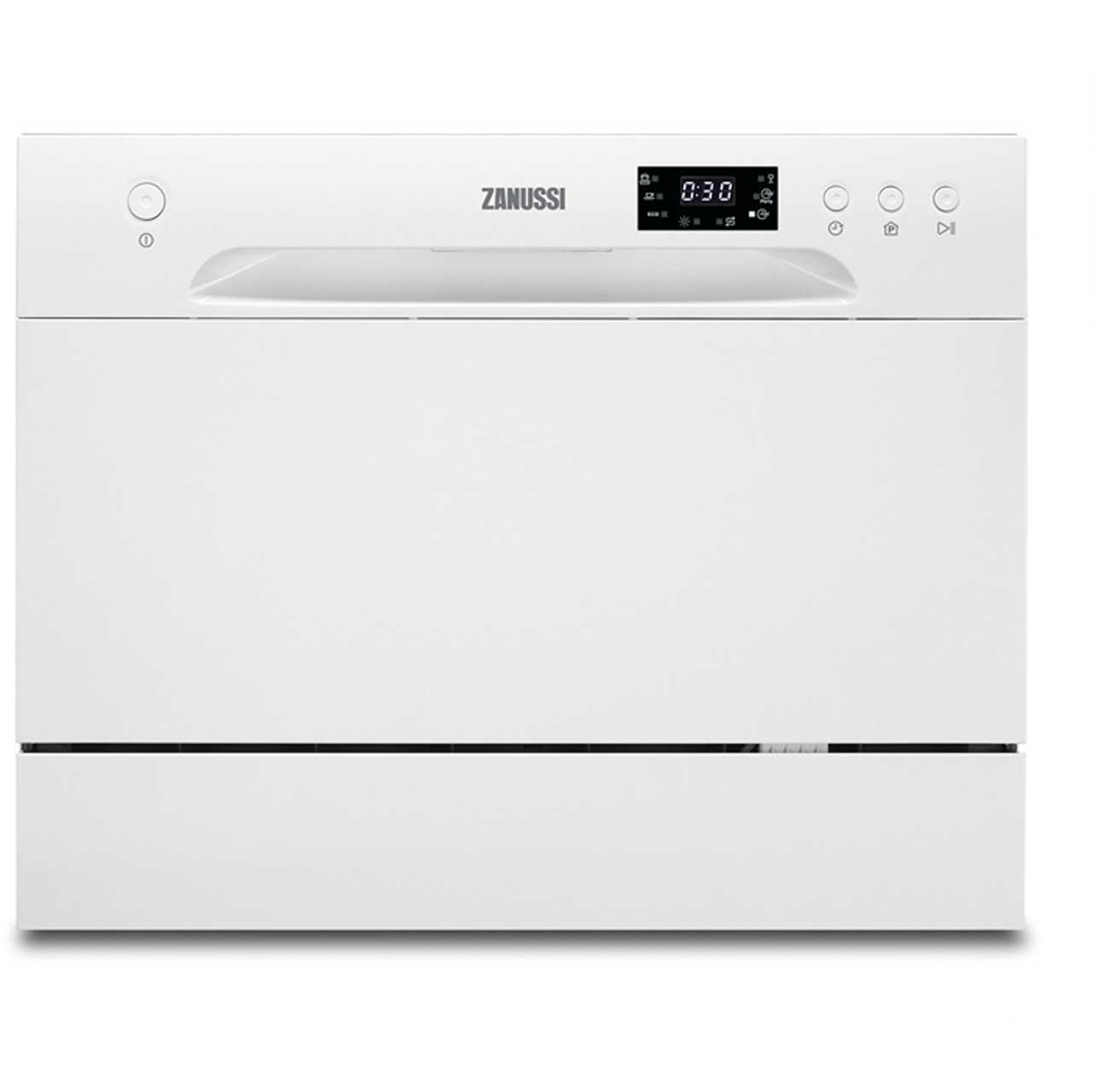Zanussi ZDM17301WA Free Standing Table Top Dishwasher in White