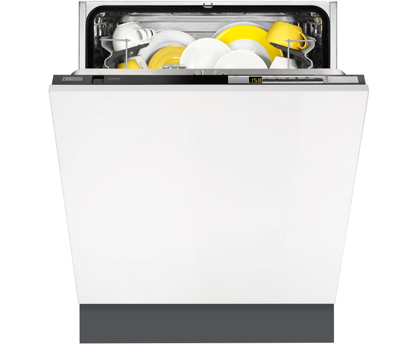 Zanussi ZDT26010FA Integrated Dishwasher in Black