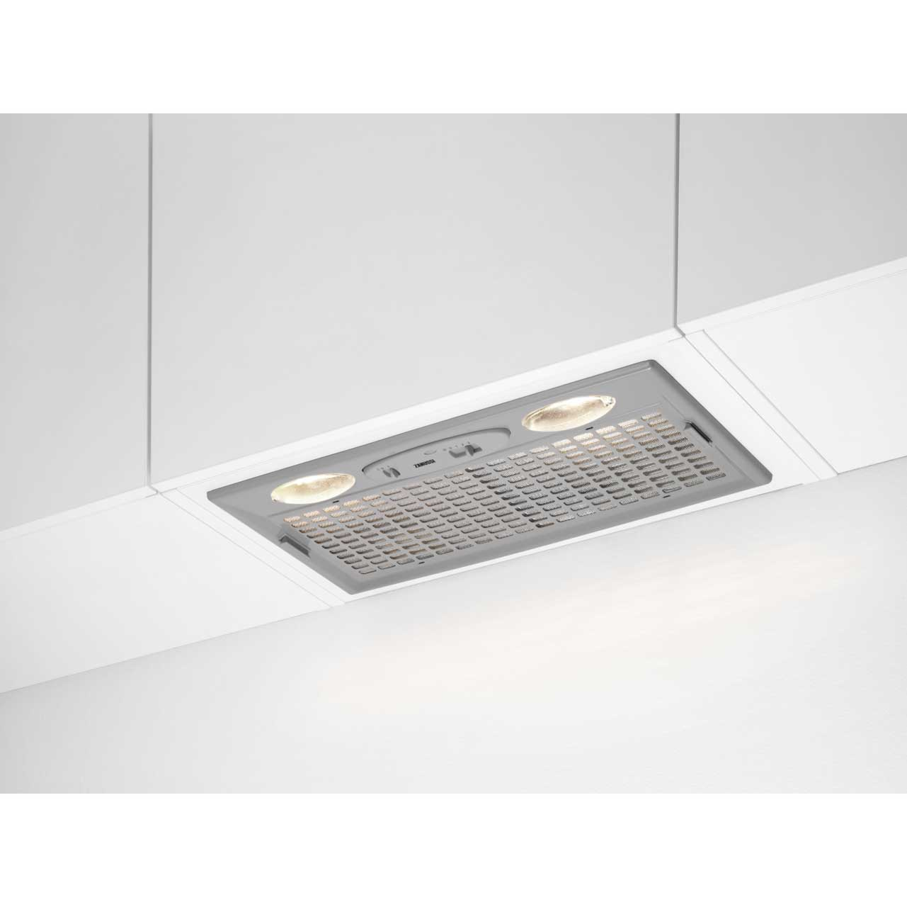 Zanussi ZHG51260GA Integrated Cooker Hood in Grey
