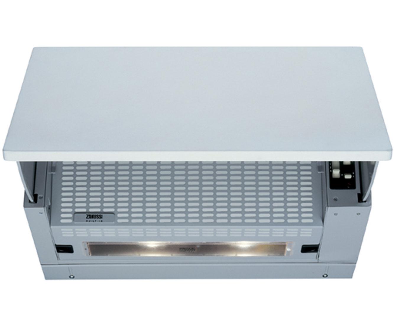 Zanussi ZHI611G 60 cm Integrated Cooker Hood - Grey - E Rated