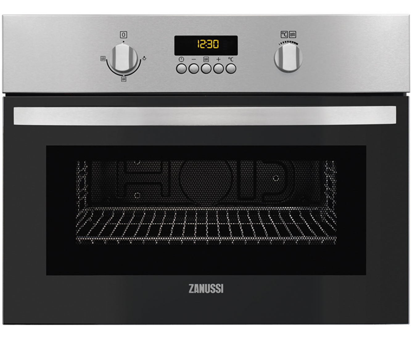 Zanussi ZKG44500XA Integrated Microwave Oven in Stainless Steel