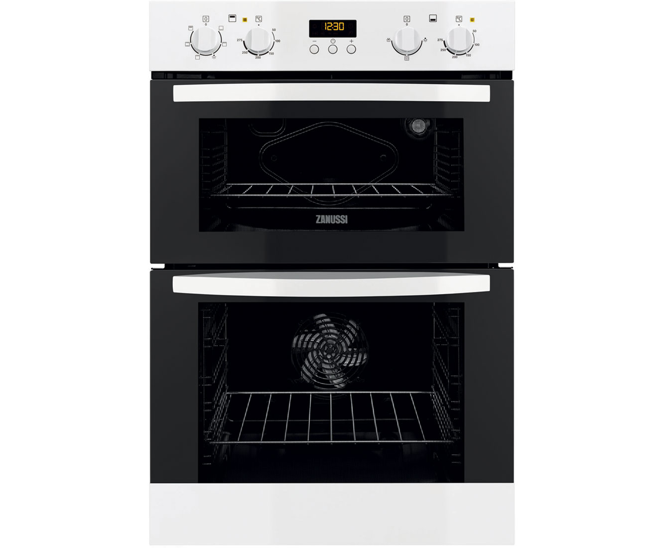 Zanussi ZOD35511WK Integrated Double Oven in White