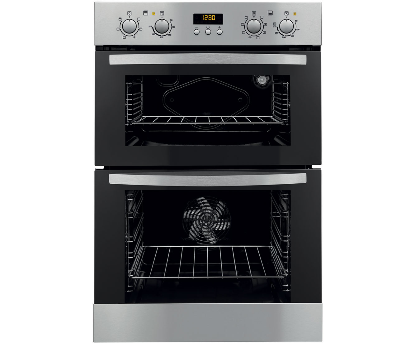 Zanussi ZOD35712XK Integrated Double Oven in Stainless Steel