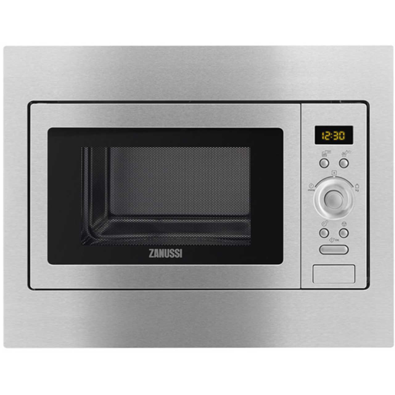 Zanussi ZSC25259XA Integrated Microwave Oven in Stainless Steel