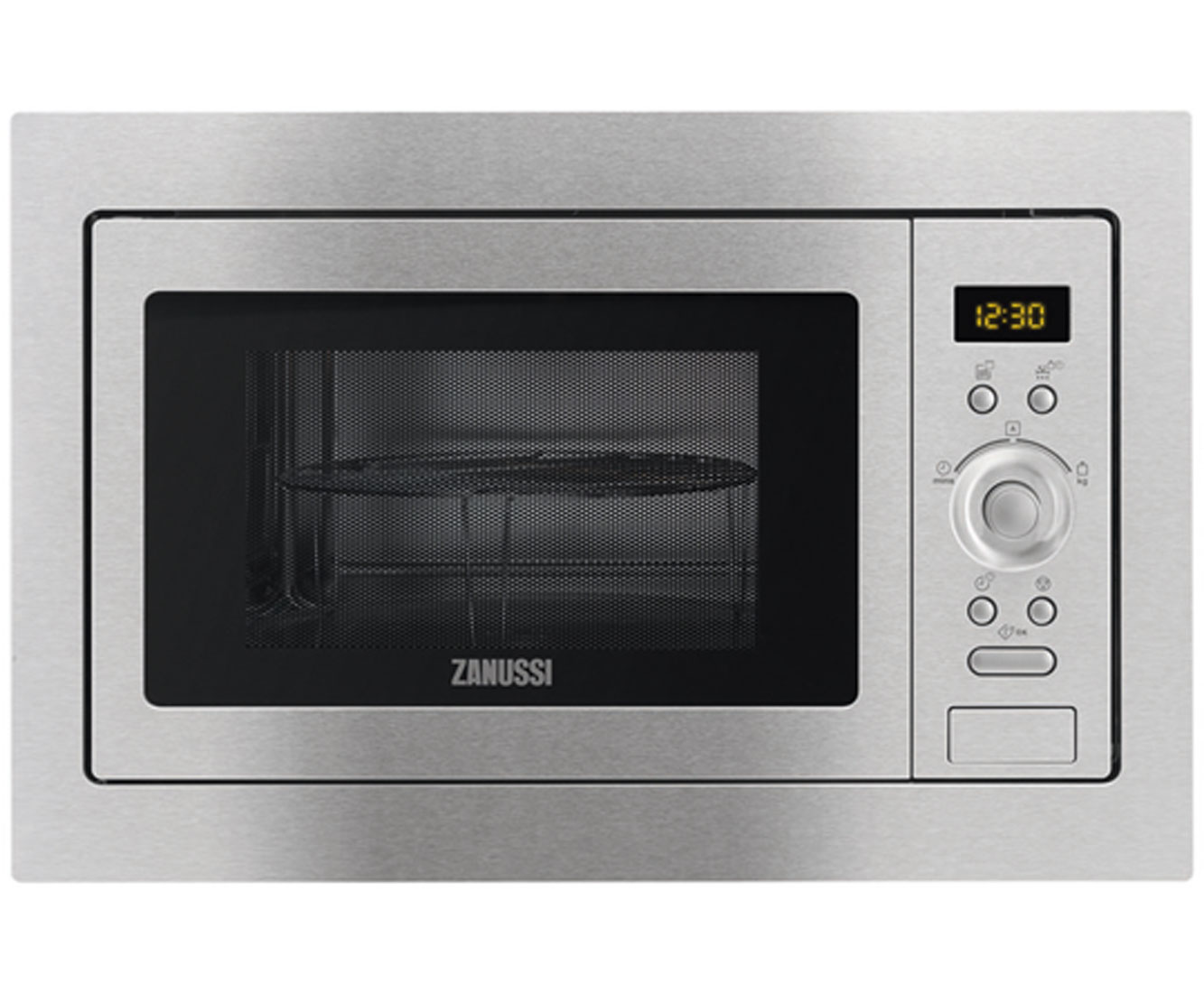 Zanussi ZSG25224XA Integrated Microwave Oven in Stainless Steel